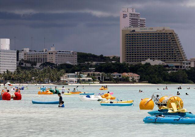 Turyści na Guam