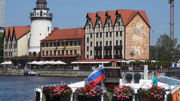 Wioska Rybacka w Kaliningradzie - Sputnik Polska