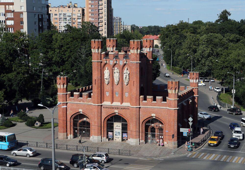 Brama Brandenburska w Kaliningradzie