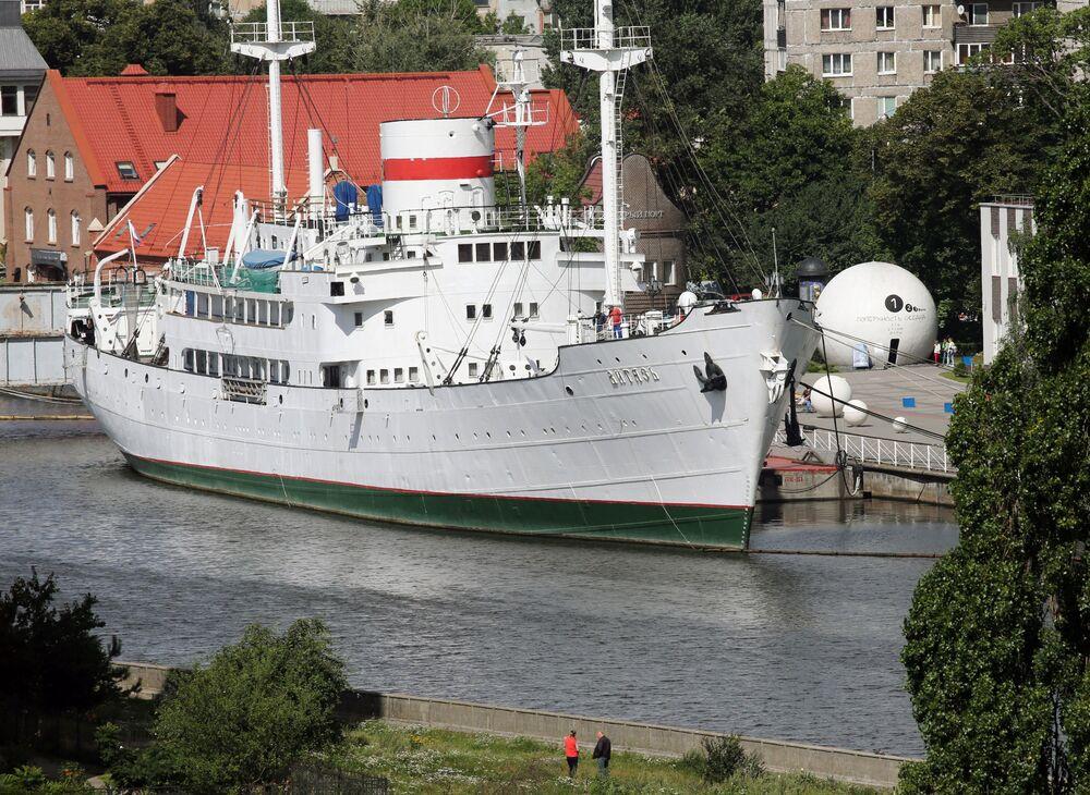 """Muzeum-statek """"Witiaz"""" w Kaliningradzie"""