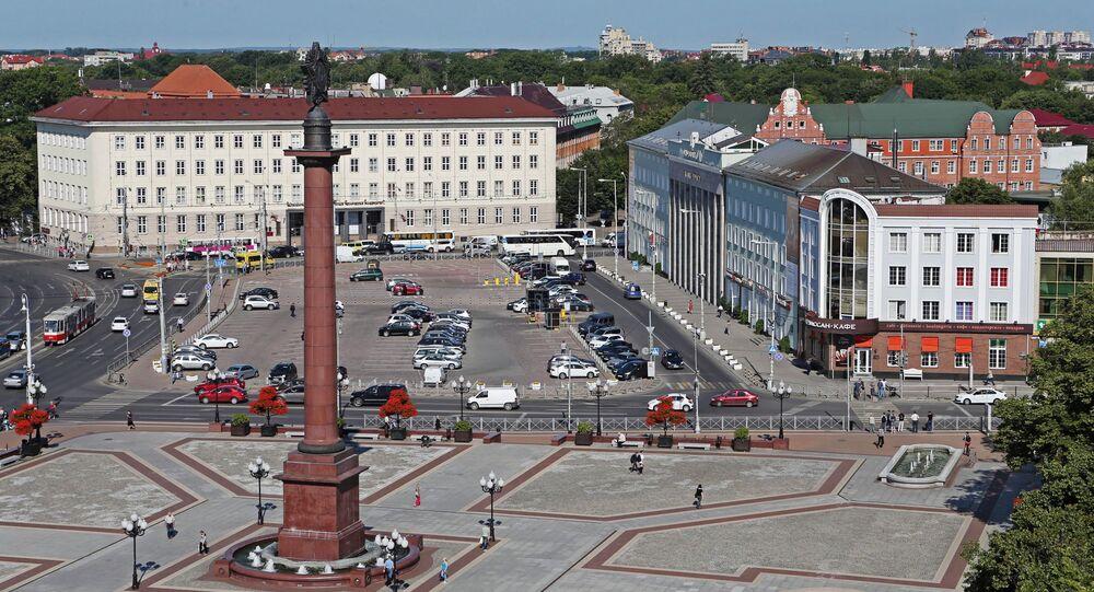 Plac Zwycięstwa w Kaliningradzie