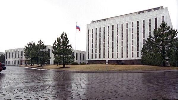 Siedziba rosyjskiej ambasady w Waszyngtonie - Sputnik Polska