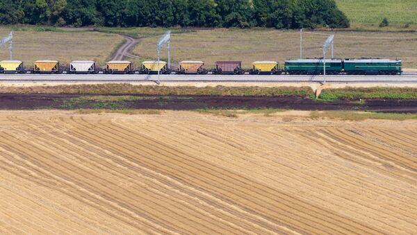 Część trasy kolejowej omijającej Ukrainę - Sputnik Polska