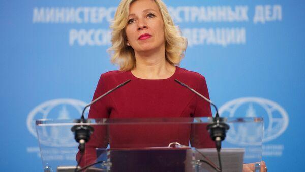 Maria Zacharowa - Sputnik Polska