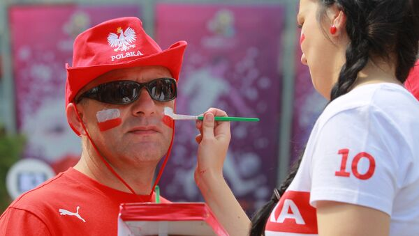 Kibice na EURO-2012 - Sputnik Polska