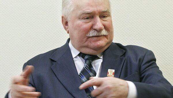 Lech Wałęsa, Warszawa, 19 lutego 2015 - Sputnik Polska