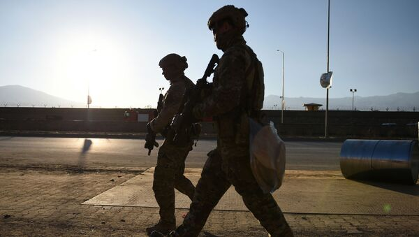 Amerykańscy żołnierze w Kabulu - Sputnik Polska