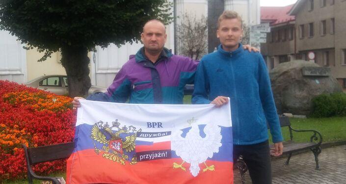 Jeden z czołowych aktywistów Braterstwa Polsko-Rosyjskiego Radosław Opoczka dalej w akcji, kontynuuje Ogólnopolską Walkę z Rusofobią pod szyldem Braterstwa Polsko-Rosyjskiego