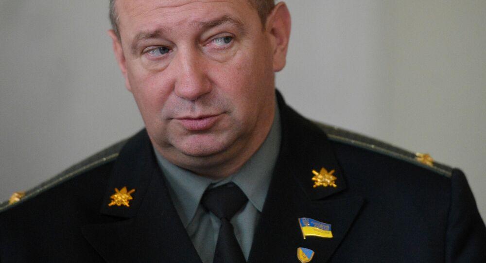 Deputowany Rady Najwyższej Ukrainy, były dowódca batalionu Ajdar Sierhij Mielniczuk