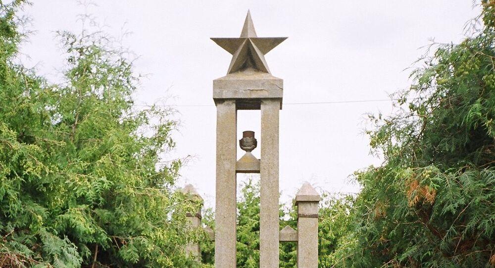 Pomnik na cześć żołnierzy radzieckich przy ul. Sikorskiego, Malbork