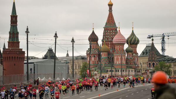 Moskiewski półmaraton 2017 - Sputnik Polska
