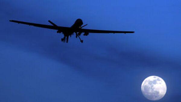 Amerykański dron. Zdjęcie archiwalne - Sputnik Polska
