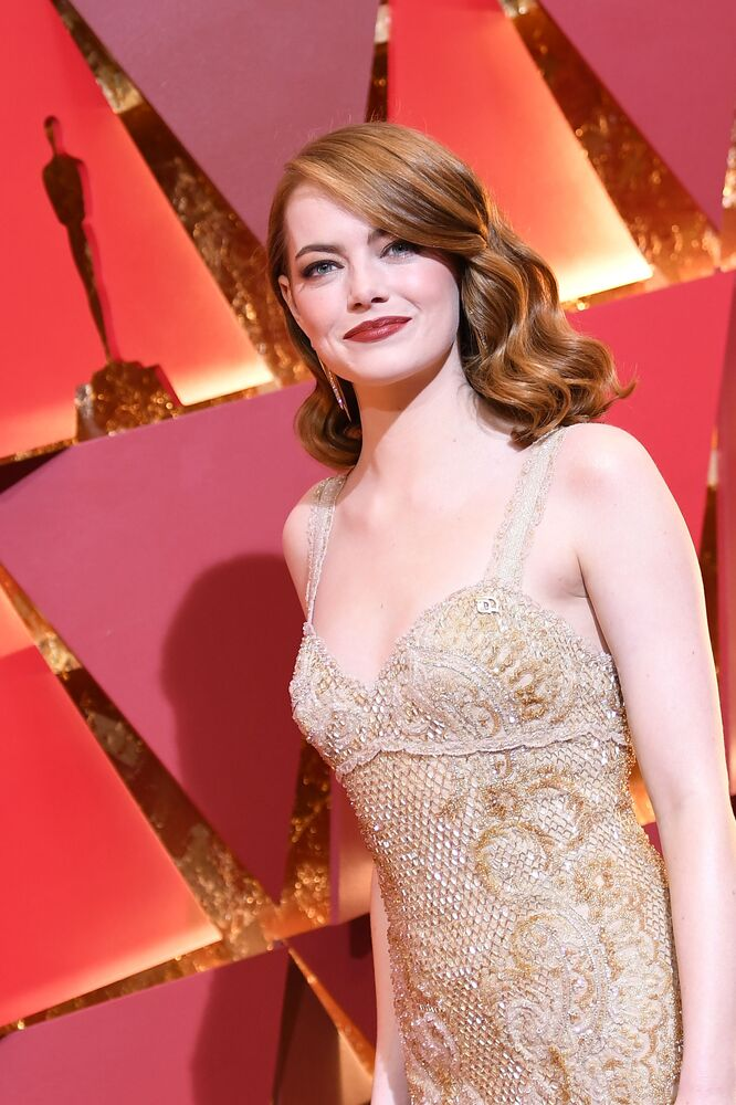 Amerykańska aktorka Emma Stone