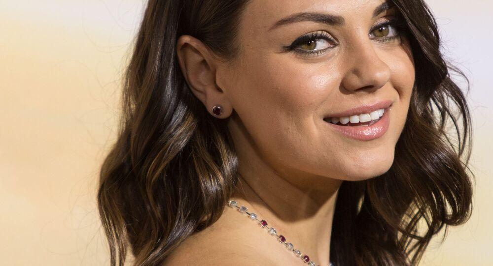 Aktorka Mila Kunis