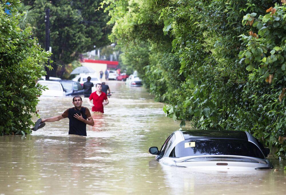 Powódź w Soczi