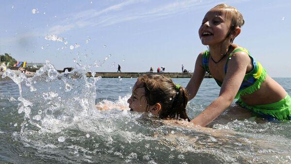 Plaża w Soczi - Sputnik Polska