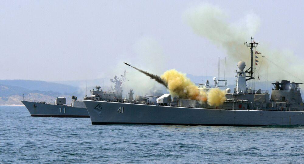 Ćwiczenia marynarki wojennej i krajów NATO w Bułgarii