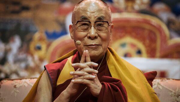 Duchowy przywódca buddystów tybetańskich Daljlama XIV - Sputnik Polska