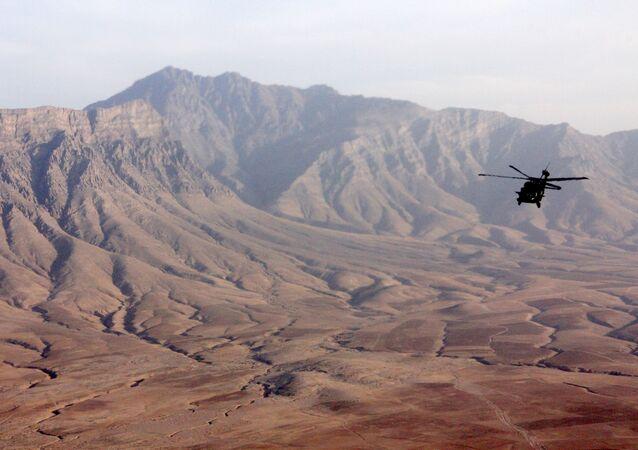 Helikopter nad Afganistanem