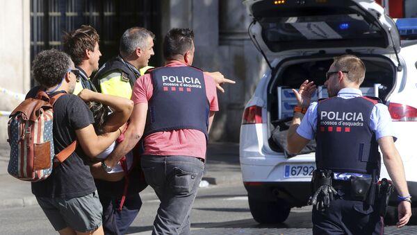 Atak terrorystyczny w Barcelonie - Sputnik Polska