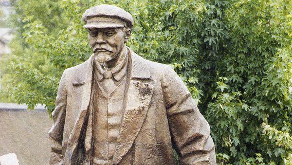 Pomnik Władimira Lenina w amerykańskim Seattle - Sputnik Polska