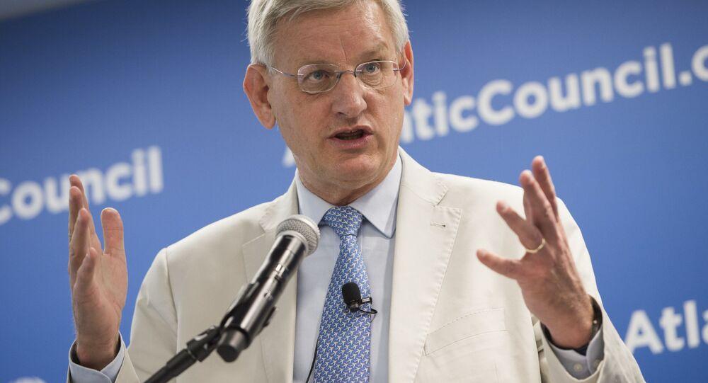 Były minister spraw zagranicznych Szwecji Carl Bildt