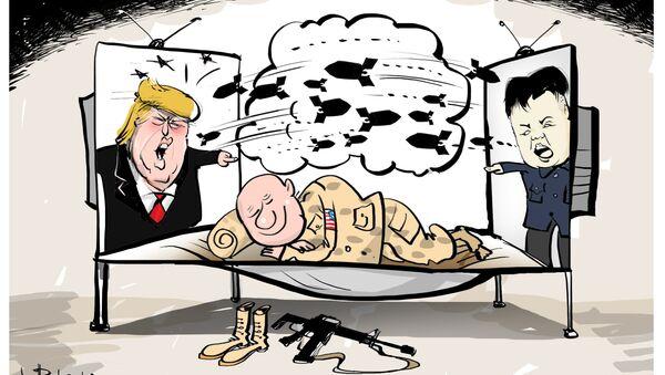 Wojna tuż tuż, a amerykańska armia nic o tym nie wie... - Sputnik Polska