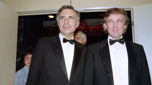 Donald Trump i Carl Icahn - Sputnik Polska
