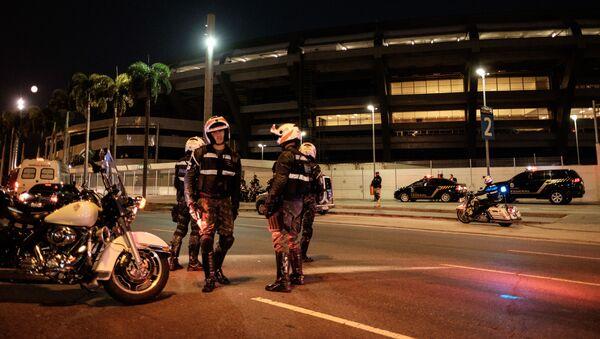 Brazylijska policja - Sputnik Polska