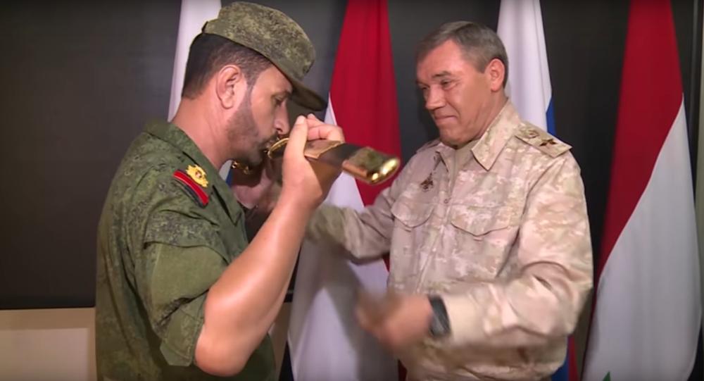 Rosjanie nagrodzili syryjskiego generała