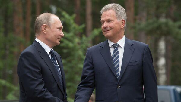 Władimir Putin i Sauli Niinistö - Sputnik Polska