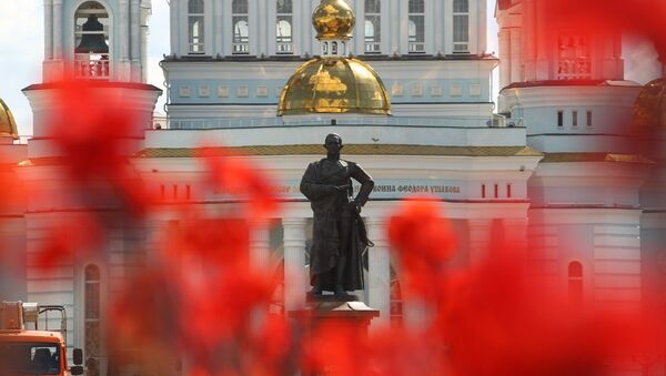 Katedra św. Teodora Uszakowa w Sarańsku. - Sputnik Polska
