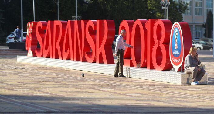 Plac Tysiąclecia w Sarańsku