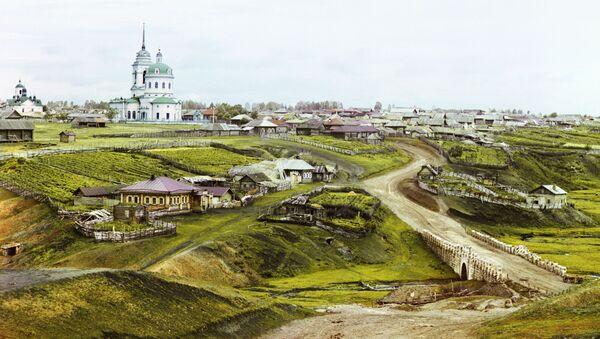 Miejscowość Kolczedan na Uralu - Sputnik Polska
