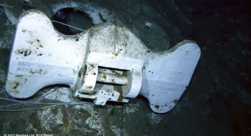 """Odnaleziono wrak amerykańskiego krążownika """"Indianapolis"""", który zatonął 30 lipca 1945 r. po storpedowaniu przez japoński okręt podwodny"""