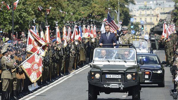 Parada z okazji Święta Wojska Polskiego. Warszawa - Sputnik Polska
