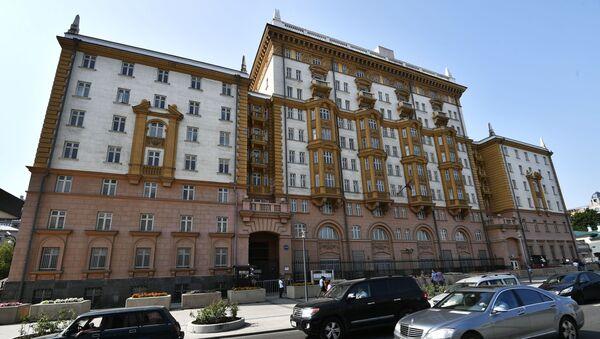 Ambasada USA w Moskwie - Sputnik Polska