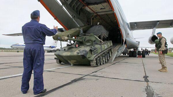 Rosyjsko-białoruskie ćwiczenia strategiczne Zapad. Zdjęcie archiwalne - Sputnik Polska