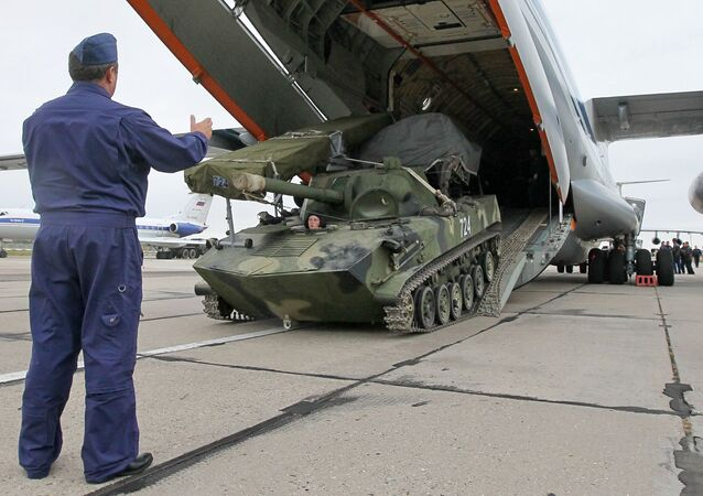 Rosyjsko-białoruskie ćwiczenia strategiczne Zapad. Zdjęcie archiwalne