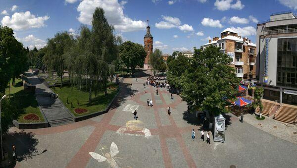 Plac Europejski w Winnicy, Ukraina - Sputnik Polska