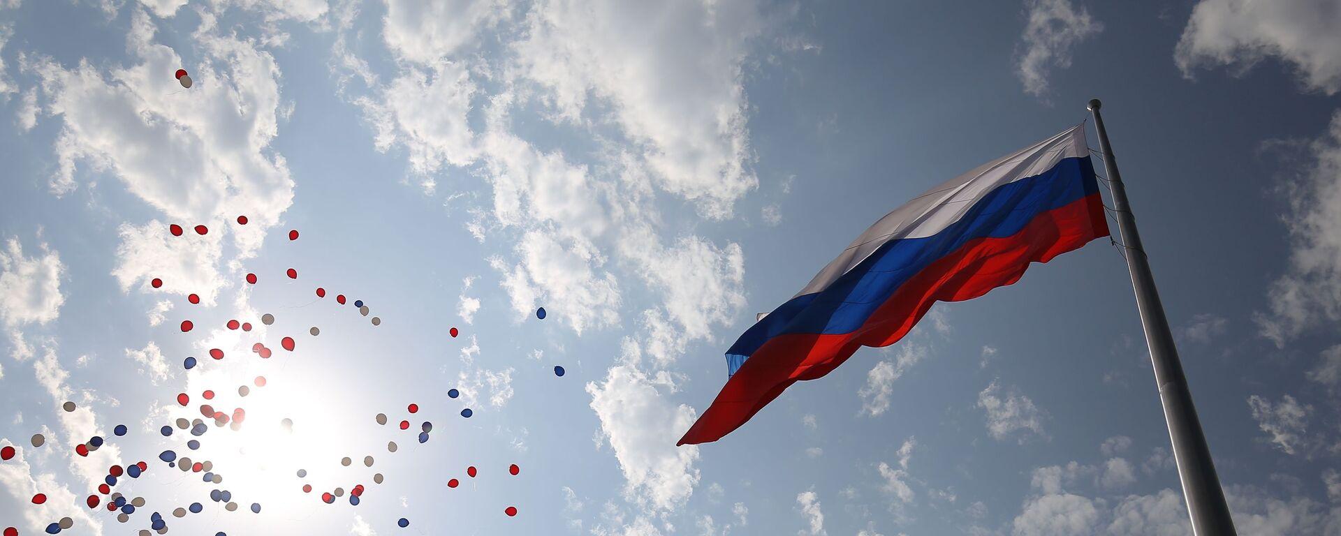 Obchody Dnia Flagi Państwowej Federacji Rosyjskiej w Krasnodarze - Sputnik Polska, 1920, 29.07.2021