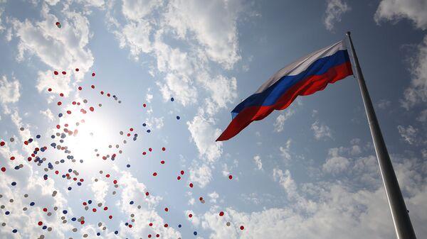 Obchody Dnia Flagi Państwowej Federacji Rosyjskiej w Krasnodarze - Sputnik Polska