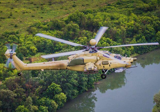 Helikopter Mi-28UB