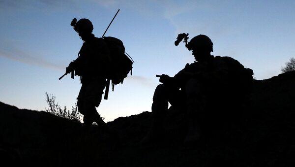 Amerykańscy żołnierzy przy pakistańskiej granicy - Sputnik Polska