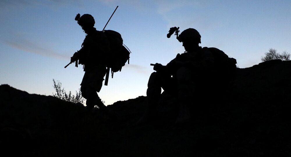 Amerykańscy żołnierzy przy pakistańskiej granicy