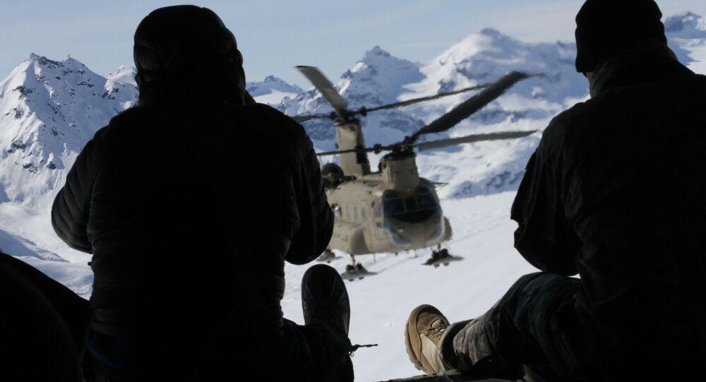Amerykańscy żołnierze na Alasce