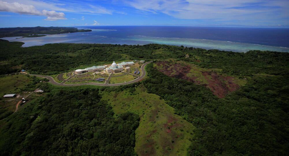 Stan Melekeok w Republice Palau