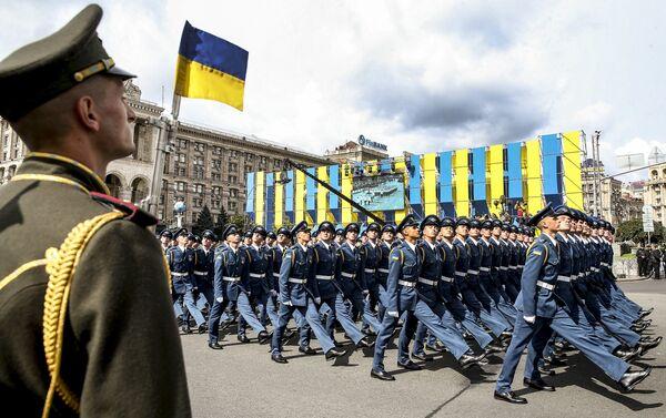 Parada w Kijowie - Sputnik Polska