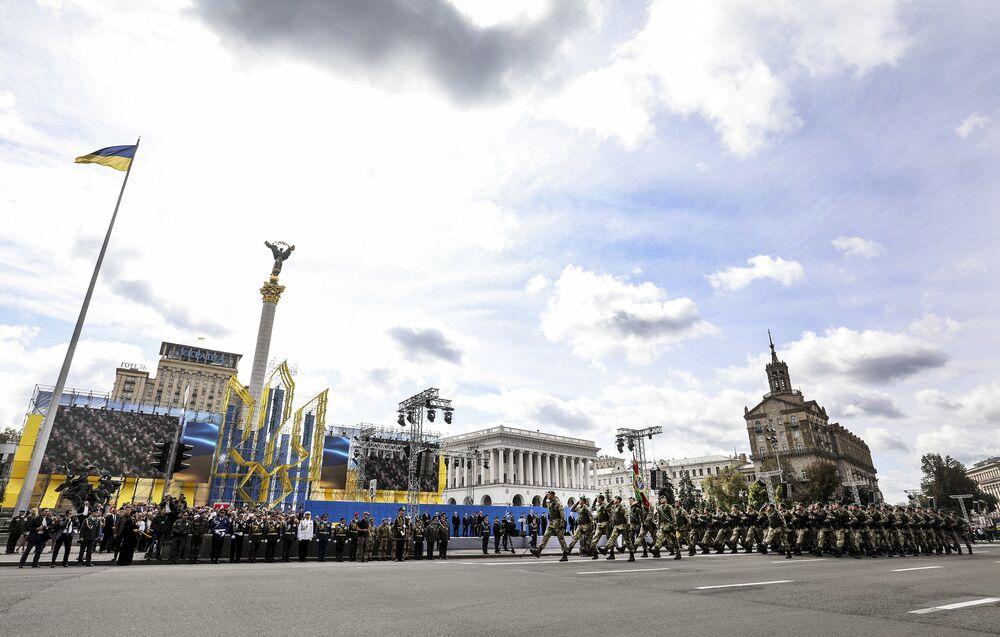 Parada z okazji Dnia Niepodległości Ukrainy