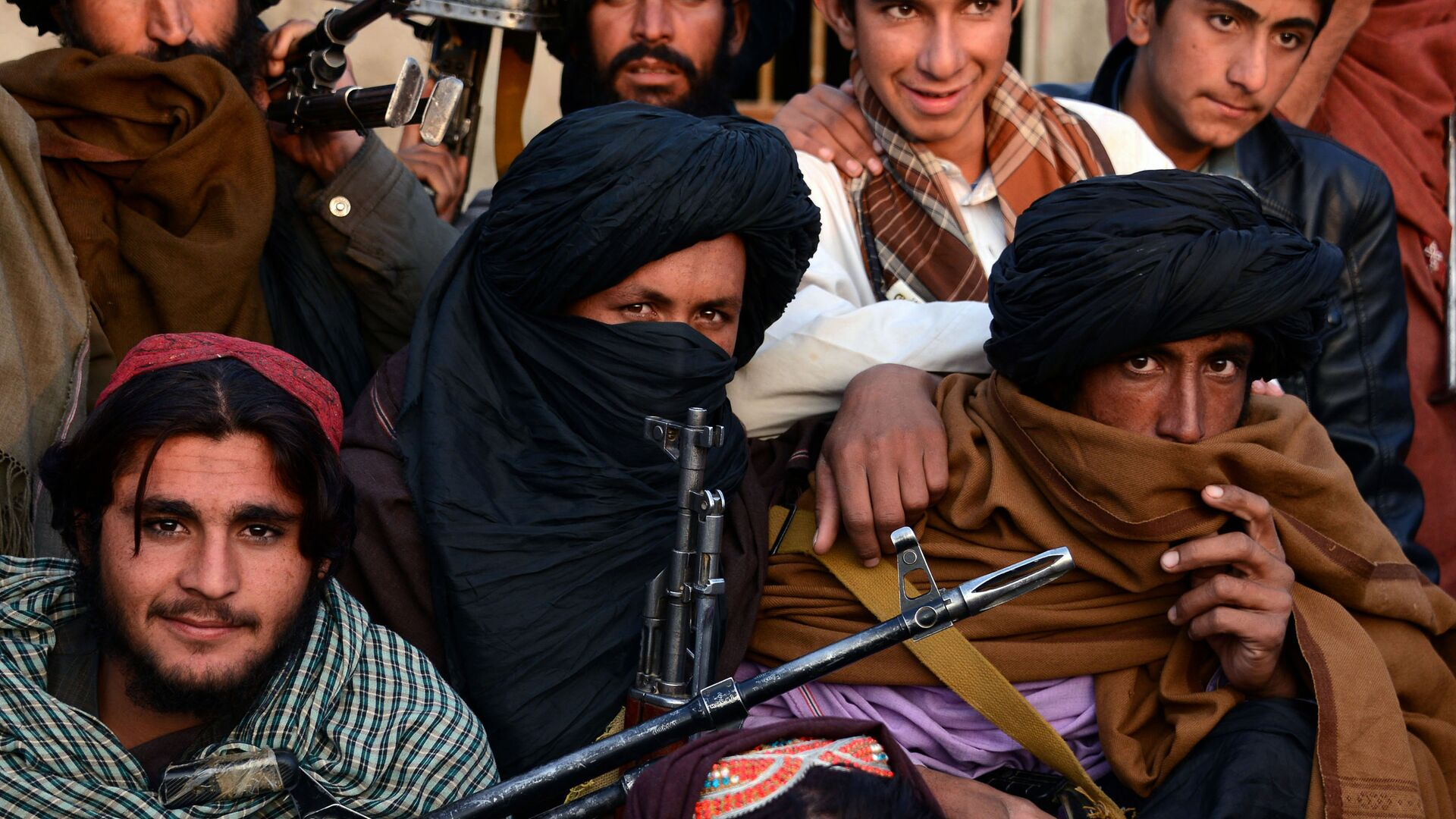 Członkowie organizacji Taliban w prowincji Farah, Afganistan. Zdjęcie archiwalne - Sputnik Polska, 1920, 22.07.2021